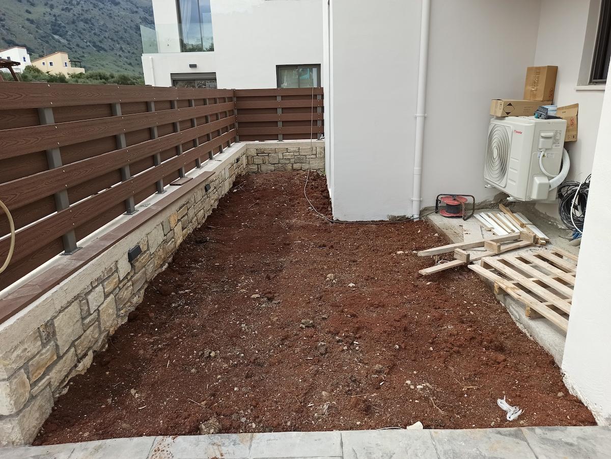 "Project ""Minoas Luxury Villas"" - Before"